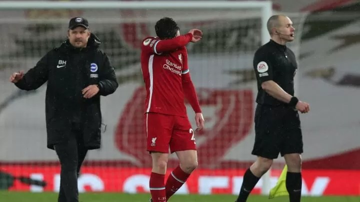 Liverpool title hopes in the mud after loss to Brighton 2