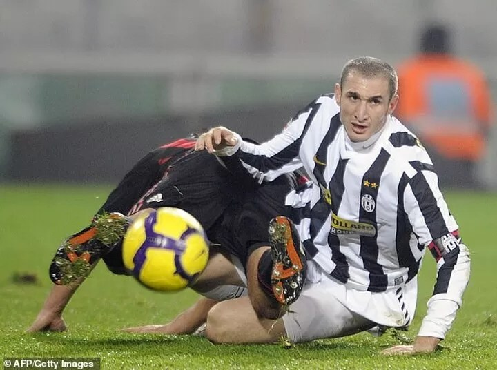 Chiellini says he was a 'FOOL' to reject Arsenal as a teenager 5