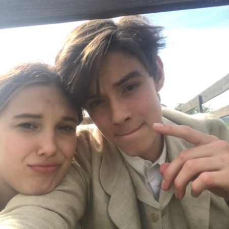 Partridge with co-star