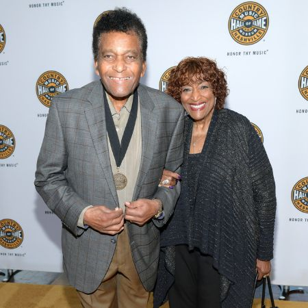 Charley Pride and Rozene Cohran attend the 2019 Country Music Hall of Fame Medallion Ceremony