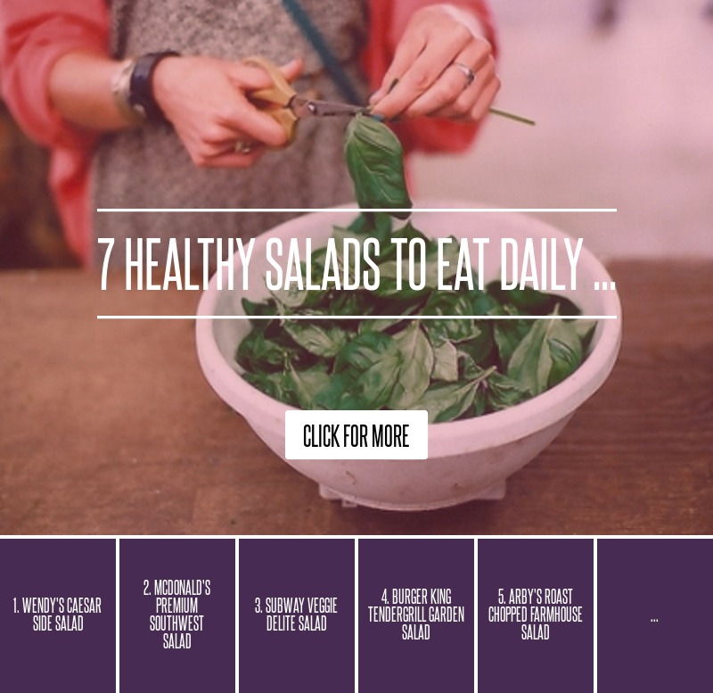 7 Healthy Salads To Eat Daily Diet