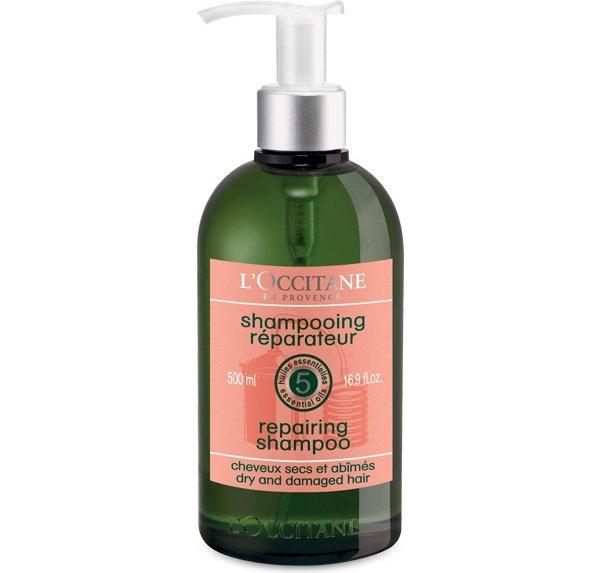 LOCCITANE Aromachologie Shampoo 15 Best Shampoos For Dry