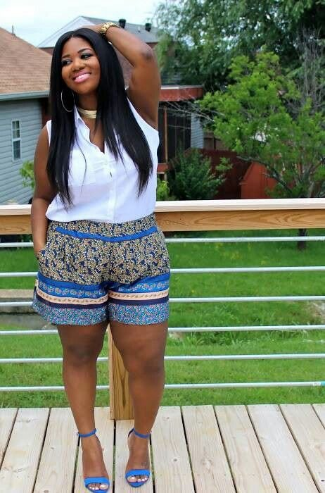 Printed Shorts Are Perfect for Summer. Dress Them up or ...