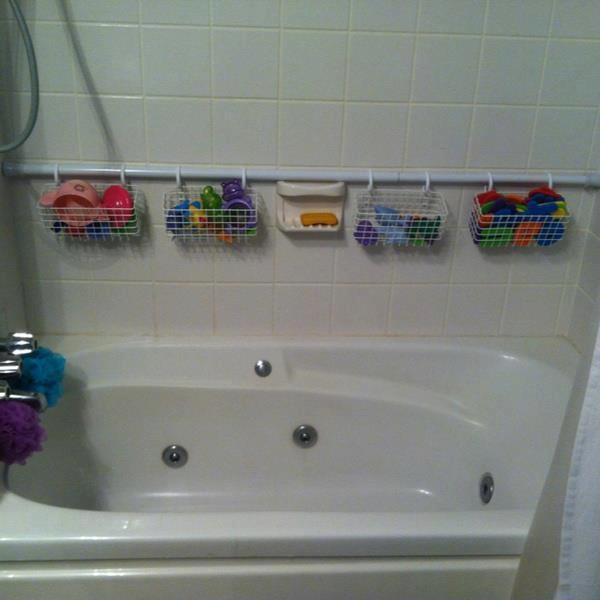 Extra Shower Curtain Rod 7 Easy Yet Wonderful DIY Bathroom