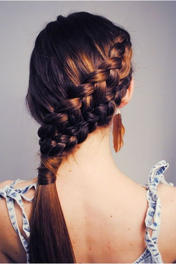 Katniss Slanted Braid 7 Great Hairstyles For Riding A