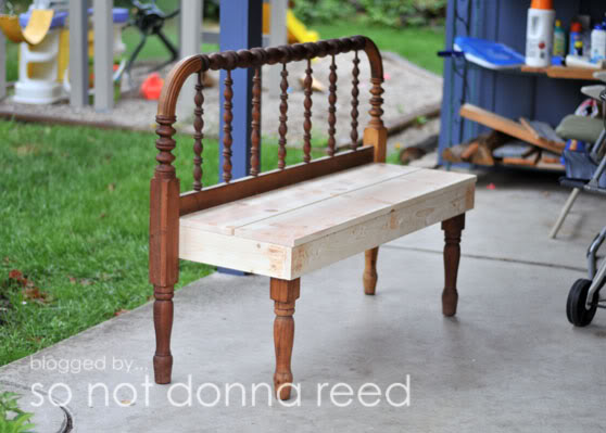 headboard bench - 10 beautiful diy benches  lifestyle