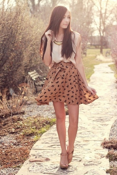 clothing, brown, polka dot, pattern, footwear,