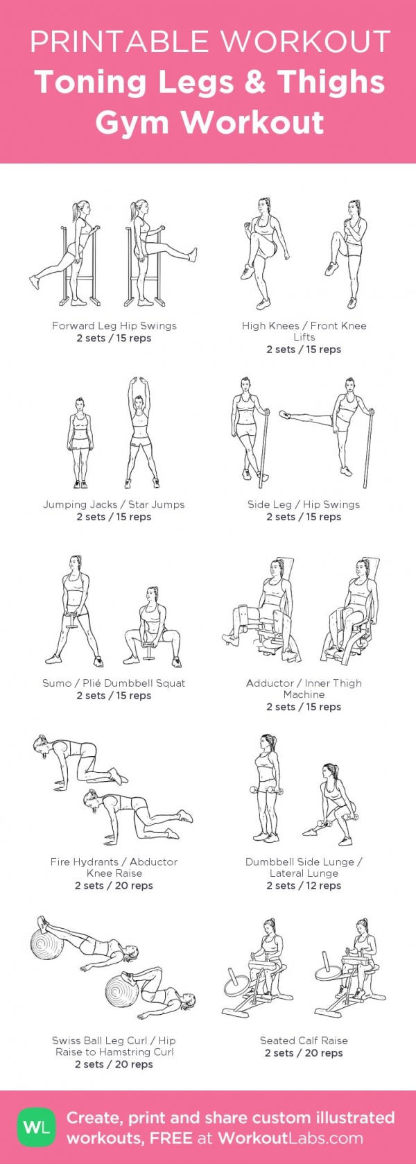 Gym Workout Images Pdf | Kayaworkout co