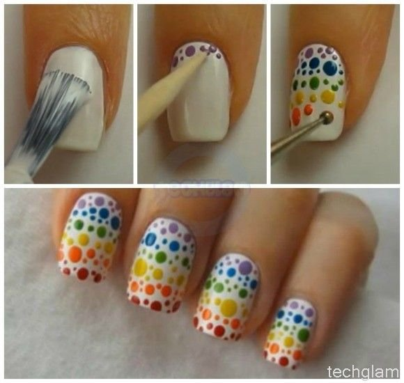 Diy Lollipop Nail Design Do It Yourself Fashion Tips