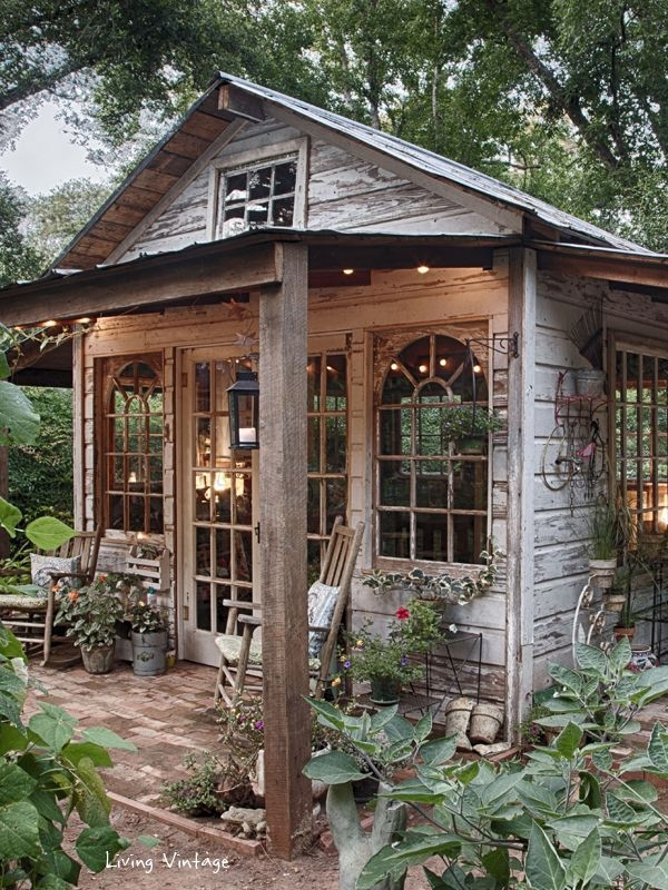 Rustic Move Over Man Cave The She Shed Is Here