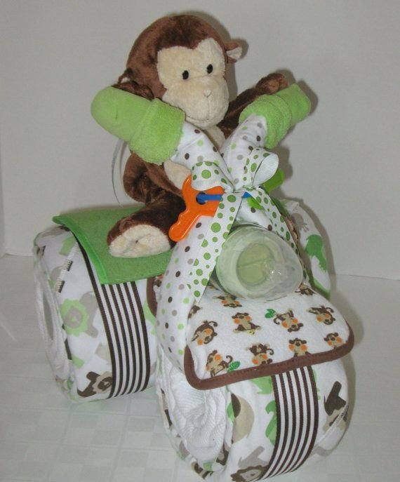 Cake Tricycle Diaper Free Instructions