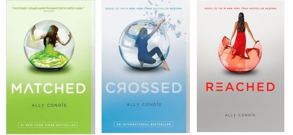 Image result for the matched trilogy