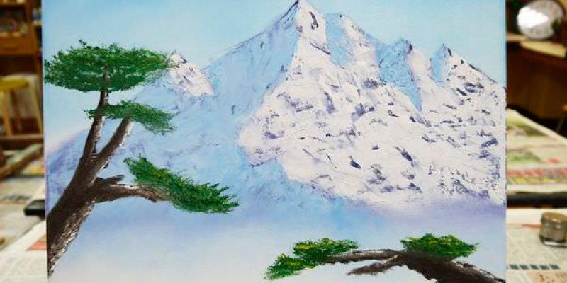 【新竹店家】優藝美術創作社。美式油畫初體驗。親子課程|才藝課程