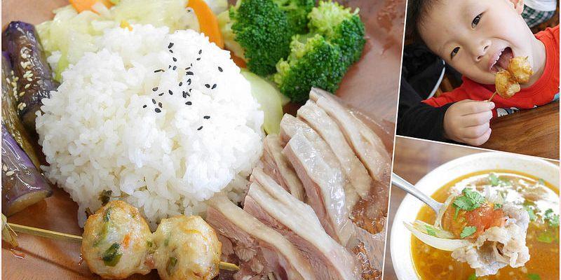 【台南美食】胡舍小館。料理具創意的人氣小館。濃咖哩豬蓋澆飯。紅蔥油雞飯 善化 小吃