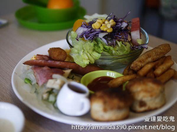 【台南美食】0628 全日早午餐。皇后雙拼烘蛋深得我心。台南早午餐|台南中西區