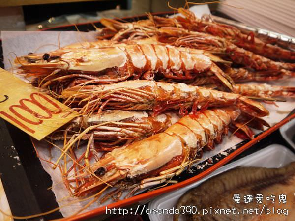 【大阪美食】黑門市場。三平水產大口吃才爽。大阪城好壯觀!