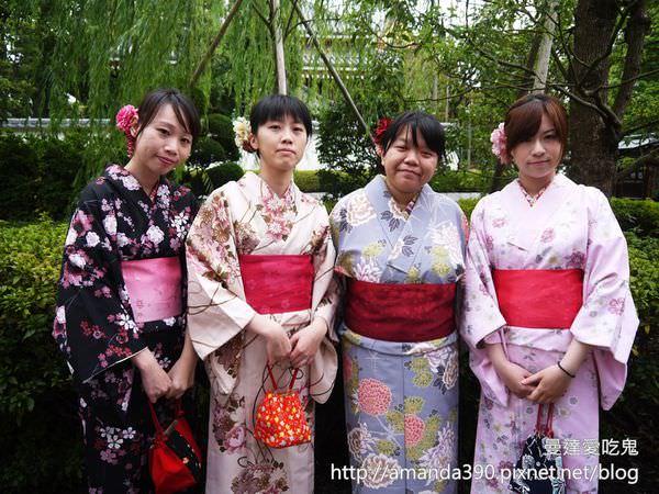 【東京景點】淺草觀音寺。淺草七變化。和服初體驗