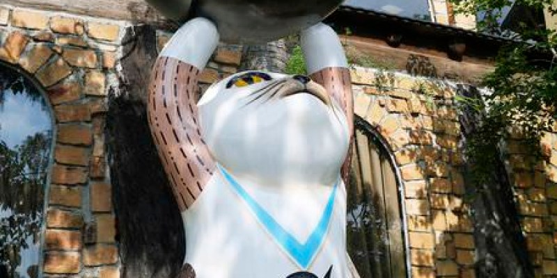 【台南景點】安平 ● 虱目魚主題館 ● 閃亮魚兒飛呀飛 ❤❤