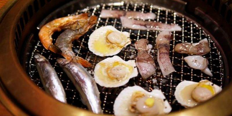 【台南美食】東區 牛角日式炭火燒肉(南紡購物中心) ● 口袋小朋友出走記 ❤❤
