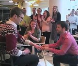gay marriage proposal in google office