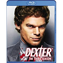 Dexter Season 3 in DVD and Blu-ray