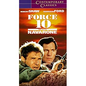 Force 1o from Navarone Movie cover