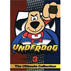 Fave fictional hero: Underdog