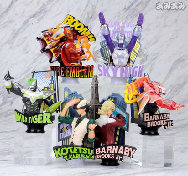 チェスピースコレクションR TIGER&BUNNY(タイガー&バニー) Vol.1 BOX アニメ・キャラクターグッズ新作情報・予約開始速報