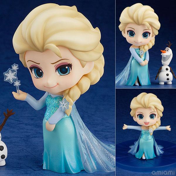 【画像】あみあみ新作フィギュア予約開始速報:ねんどろいど アナと雪の女王 エルサ