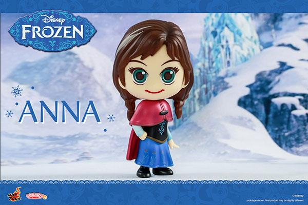 【画像】あみあみ新作フィギュア予約開始速報:【コスベイビー】『アナと雪の女王』[サイズS] アナ