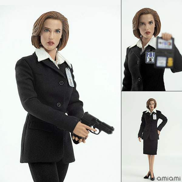 THE X FILES (X-ファイル) AGENT SCULLY (スカリー捜査官) 1/6 可動フィギュア アニメ・キャラクターグッズ新作情報・予約開始速報