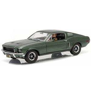 1/18 Bullitt (1968) - 1968 Ford Mustang GT Fastback - with Steven McQueen Figure driving アニメ・キャラクターグッズ新作情報・予約開始速報