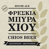 chios beer_label