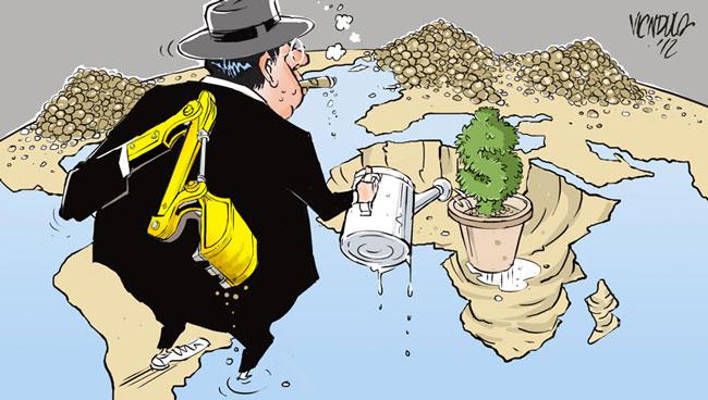 Αφρική,-εκμετάλλευση