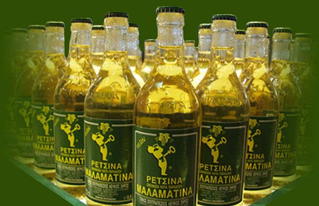 Μαλαματίνα κρασί ρετσίνα