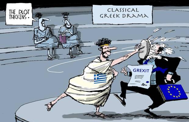 ΕΙΚΟΝΑ---Ελλάδα,-Ευρώπη,-Ευρωζώνη,-Grexit