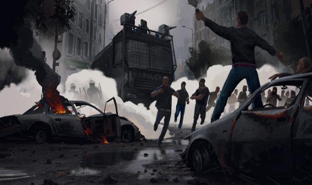 ΕΙΚΟΝΑ---διαδηλώσεις,-αστυνομία