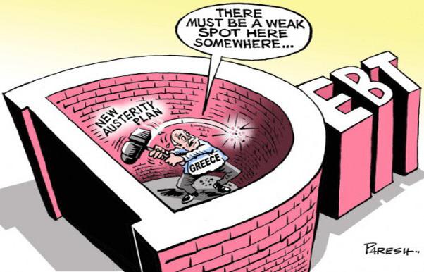 Ελλάδα,-χρέος Ο Βραχνάς του δημοσίου χρέους