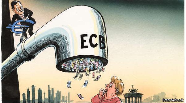 Ευρώπη,-ευρωζώνη,-γερμανία Ρευστότητα και πραγματική οικονομία