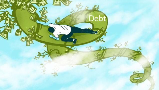 ΕΙΚΟΝΑ---χρέος,-δολάριο,-μύθος Δύο μεγάλοι μύθοι