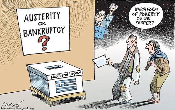 ΕΙΚΟΝΑ---Ελλάδα Το νεοφιλελεύθερο δόγμα