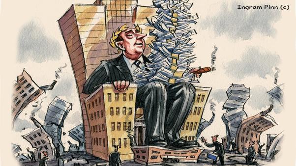ΕΙΚΟΝΑ---χρήμα,-κεντρικές-τράπεζες Η τραπεζική παγίδα