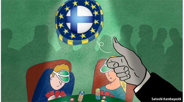 ΕΙΚΟΝΑ---Φινλανδία Φινλανδία, αντιδράσεις κατά του ευρώ
