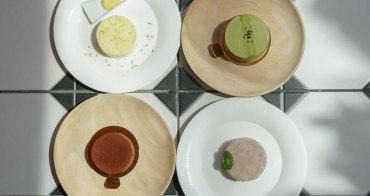 [台中甜點推薦]1%Bakery手作乳酪蛋糕-玻璃屋享美味乳酪蛋糕~特濃芋頭重乳酪超推