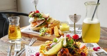 [高雄早午餐推薦]話蒔WAZZ FLORA-好拍又好吃~超人氣個性網美風早午餐店