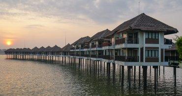 [馬來西亞住宿推薦]AVANI黃金棕櫚樹海上渡假村-海上VILLA日出絕景x超享受無邊際泳池