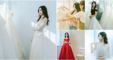 [高雄婚紗推薦]高雄白色婚禮White Wedding-高質感手工婚紗~絕美不加價區禮服試穿