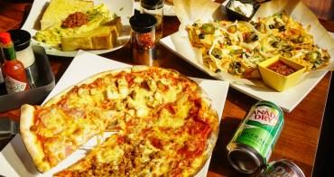 [高雄]搖滾披薩Pizza Rock(文衡店)-披薩店早午餐開賣!?滿500就披薩外送超方便