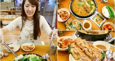 【韓國首爾美食】24小時馬鈴薯排骨湯 조마루감자탕 신설점。東廟美食推薦!全天候供應美味大份量