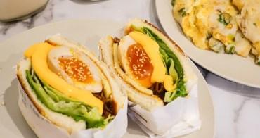【台北美食】朝富cha'o food中山站早午餐。邪惡系早午餐!讓人理智線斷裂的爆燒肉黃金溏心蛋